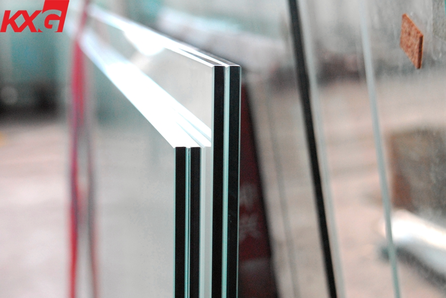 12.76mm laminated glass