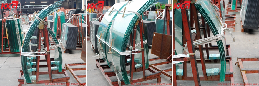 curved tempered glass factory price
