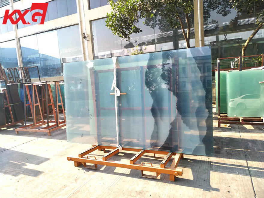 KXG-Chinese landscape painting toughened glass partition