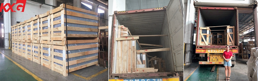 tempered laminated glass packing