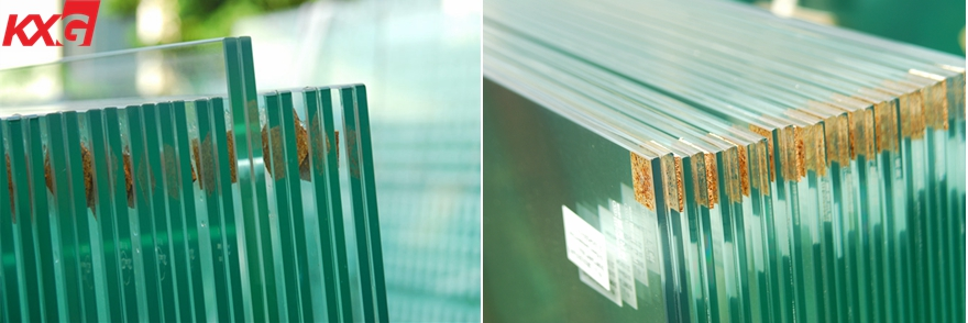 10mm+1.52+10mm safety toughened laminated glass