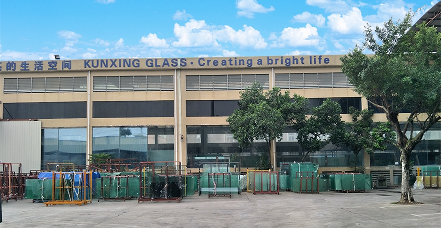 KXG building glass factory