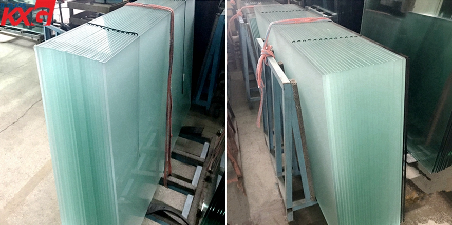 frosted tempered glass factory