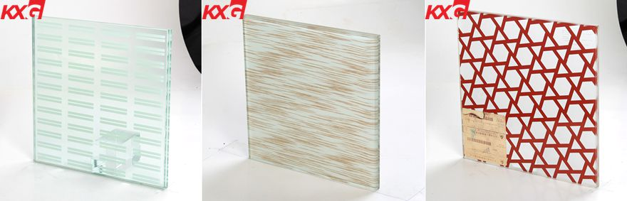 kxg color tempered laminated glass