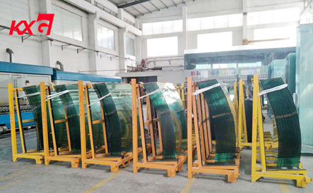 Kunxing curved toughened glass