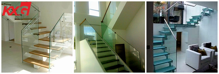 tempered laminated glass staircase