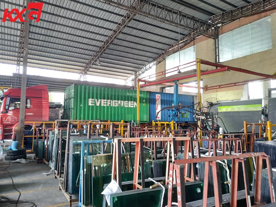 KXG exports tempered laminated insulated glass to Malaysia