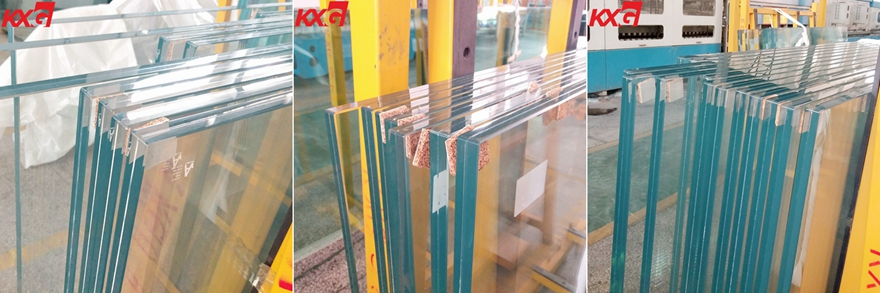 21.52mm low iron tempered laminated glass