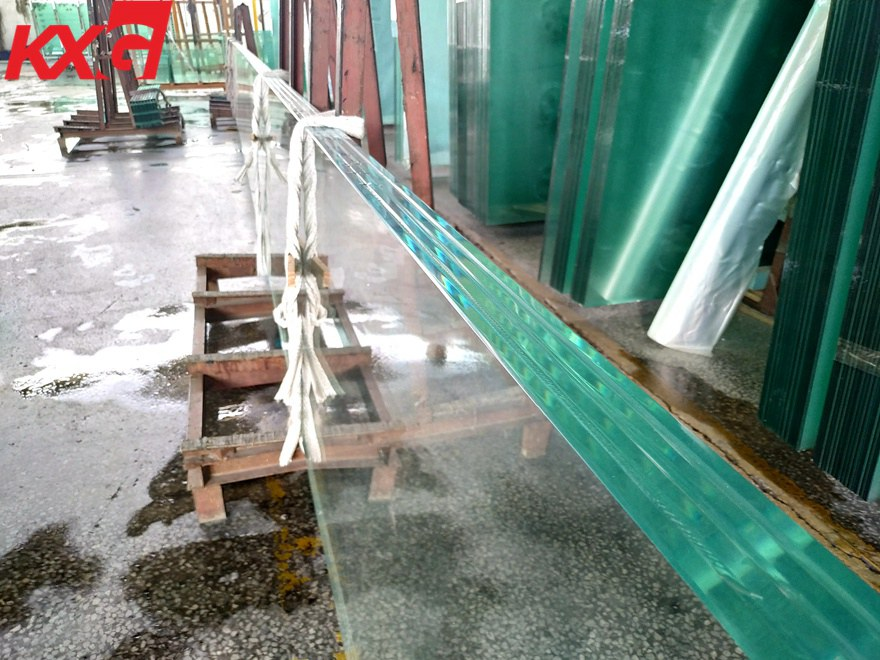 SGP tempered laminated glass
