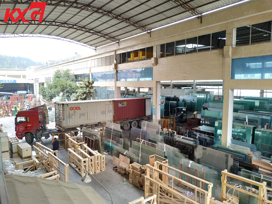 KXG-loading laminated glass
