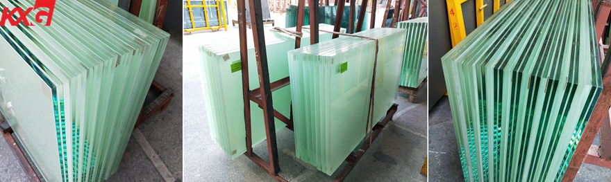 frosted laminated glass