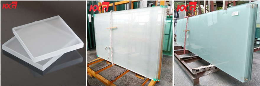 frost tempered glass