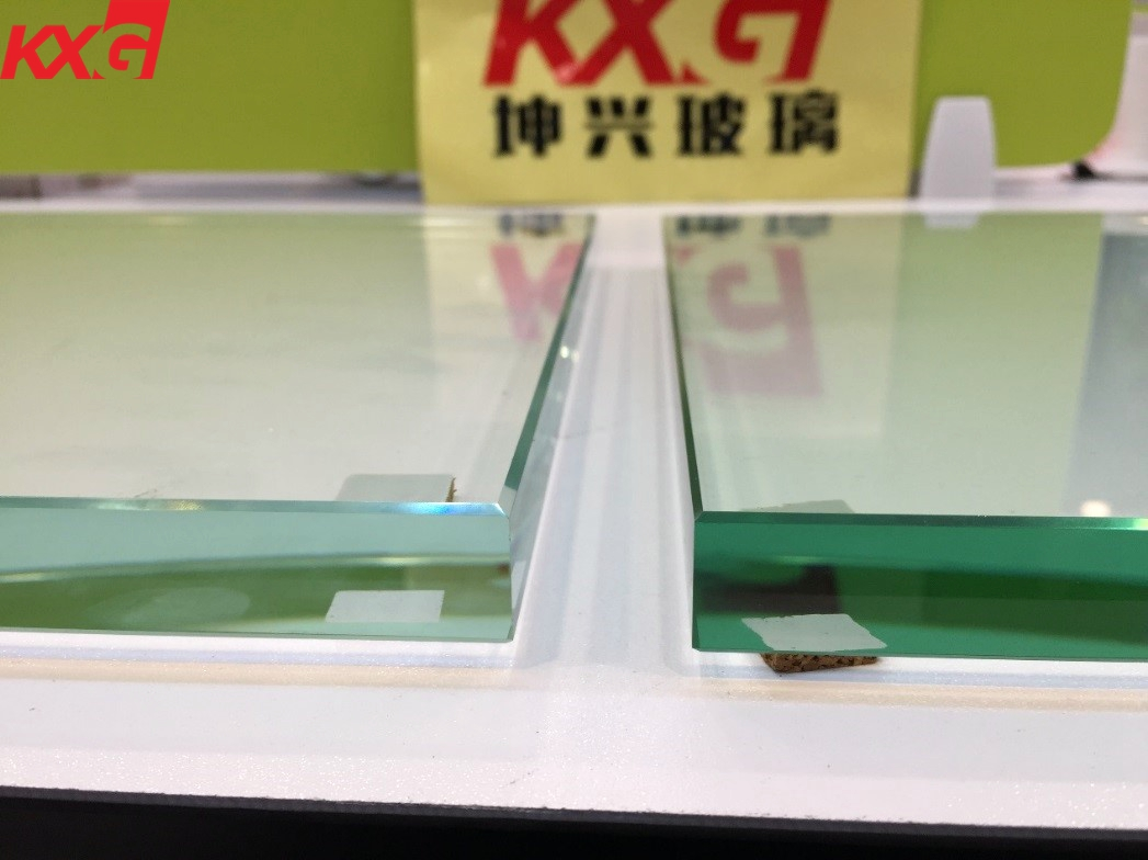 15mm clear and ultra clear toughened glass