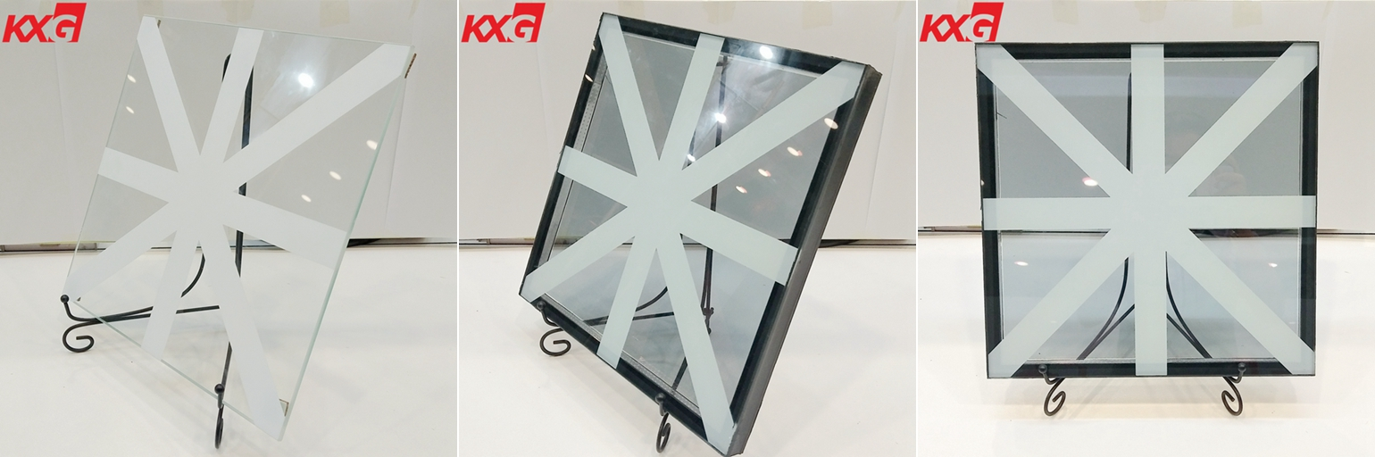 silk screen printing reflective double glass