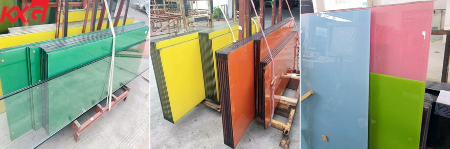 silkscreen color safety toughened glass