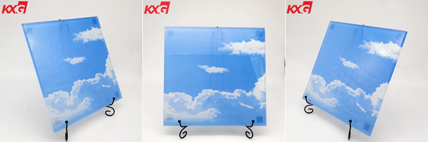 10mm digital printing toughened glass
