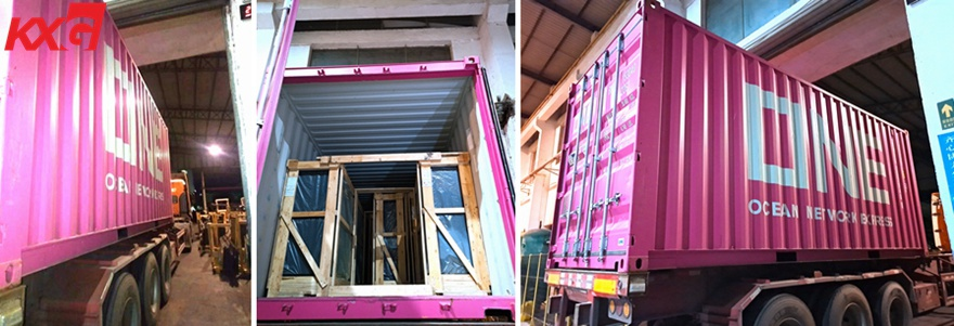 KXG exports laminated glass and insulated glass to Dubai