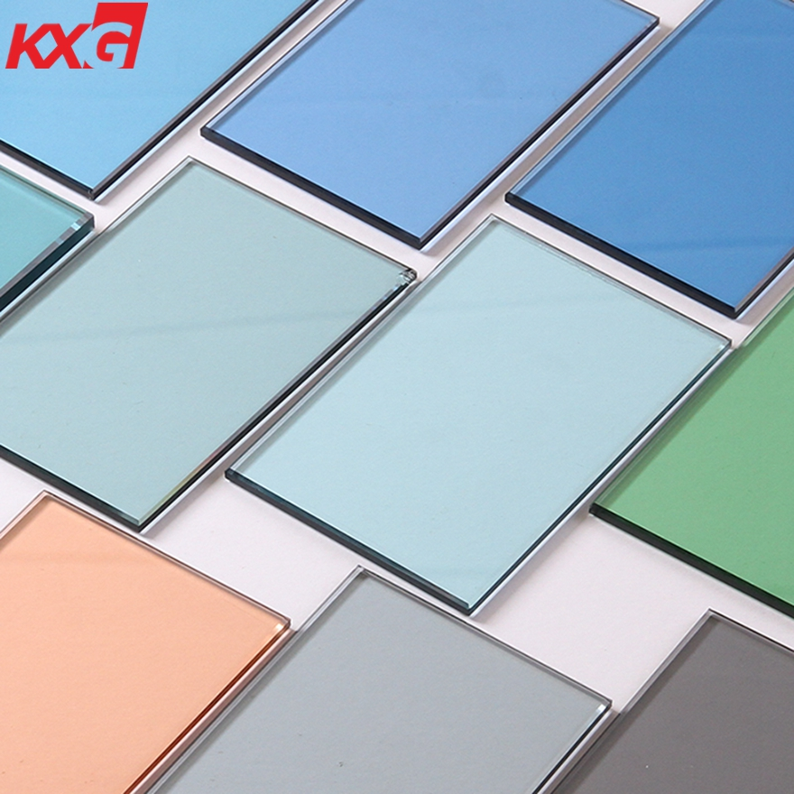 Tinted glass color glass