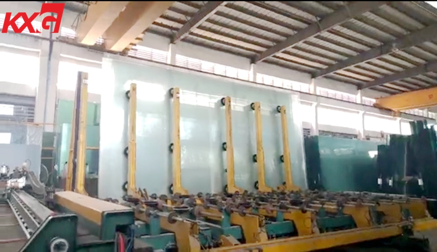 6mm extra clear float glass cutting