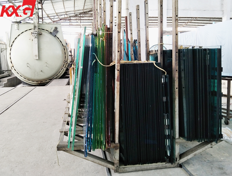 KXG laminated safety glass factory production line