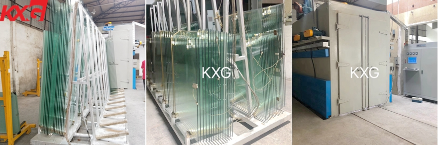 safety tempered heat soak glass