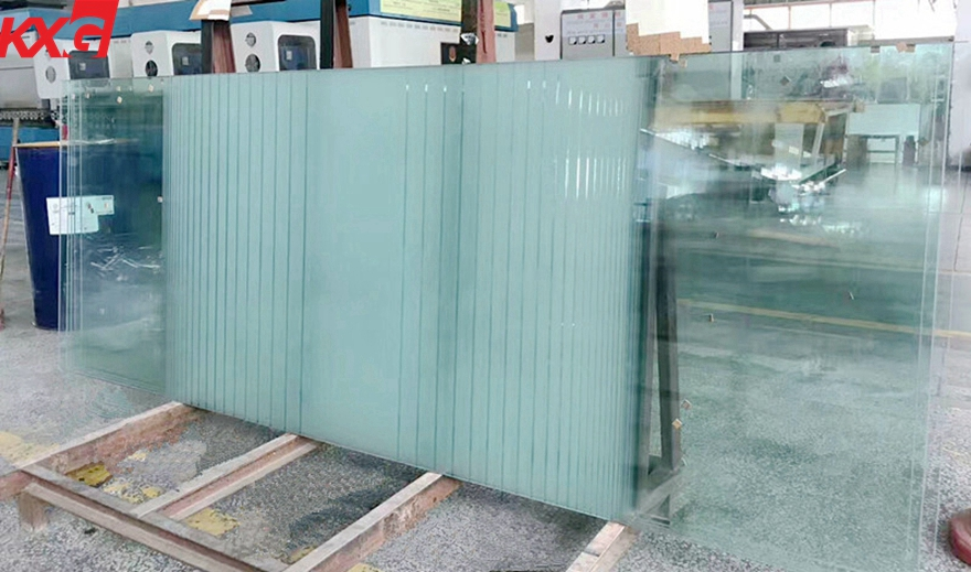 frosted tempered safety glass
