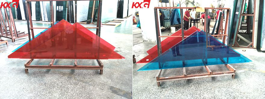 kunxing color pvb laminated glass