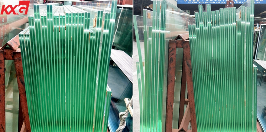 17.52 clear laminated glass balustrade