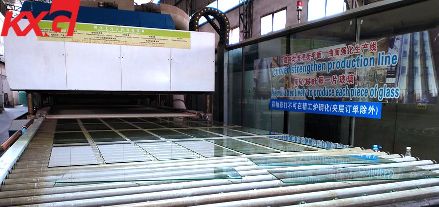 tempered glass furnace