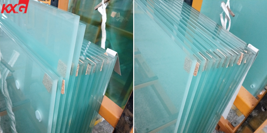 10mmm safety acid etched frosted tempered glass