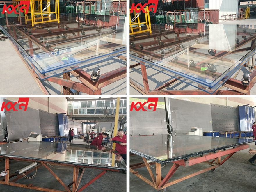 8mm low iron tempered insulated glass