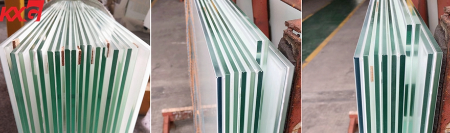 snow white laminated glass