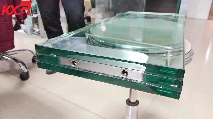 clear tempered SGP laminated glass