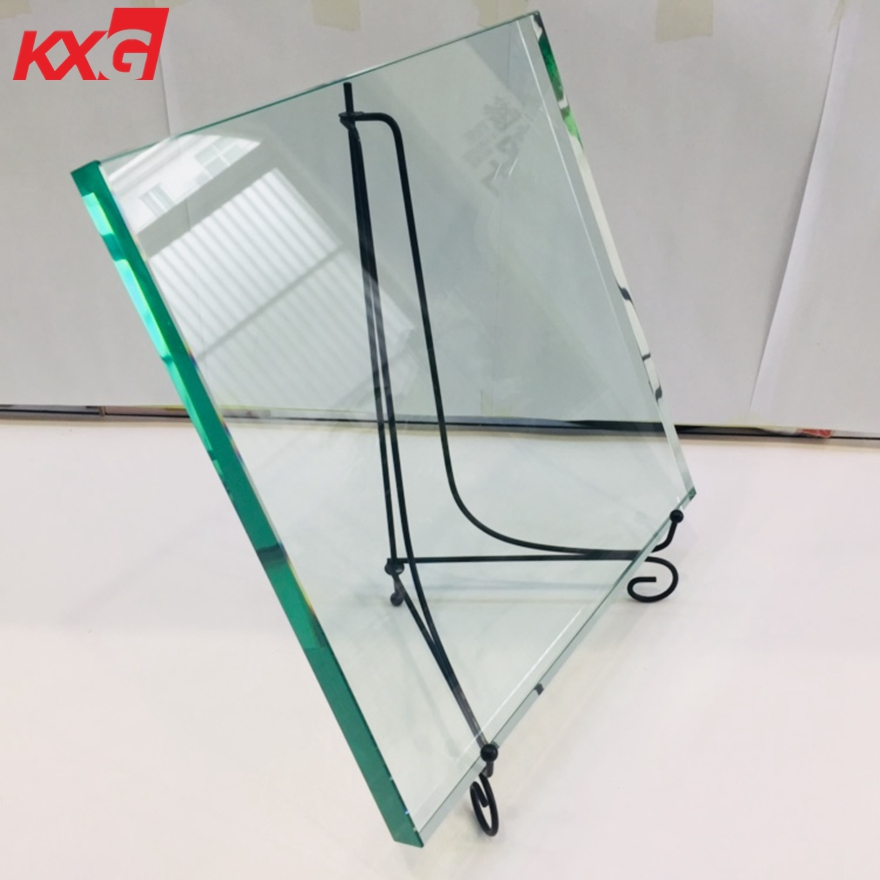 19mm tempered clear glass