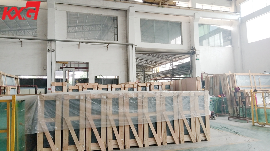 10mm clear tempered glass packing