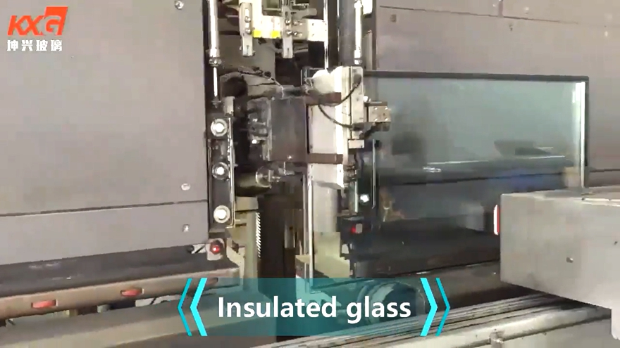KXG-insulating glass production line