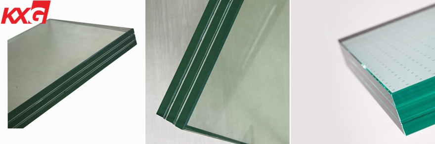 KXG safety triple tempered laminated glass