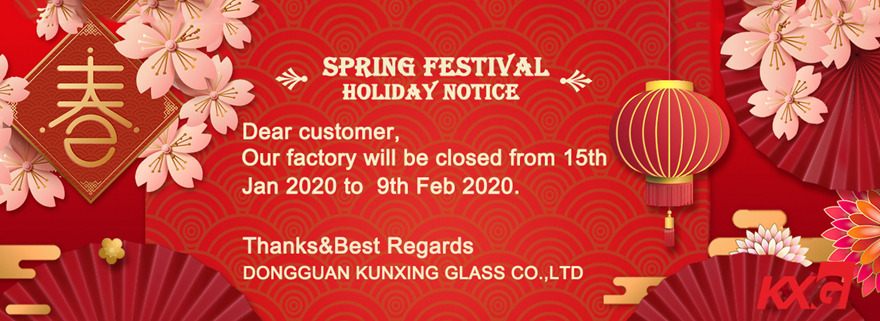 Kunxing Glass Wish you all the best