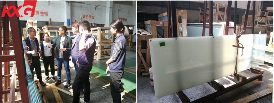 Laminated graded glass