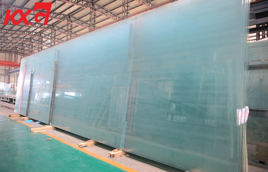 jumbo size low iron super clear float glass 15mm 19mm 22mm