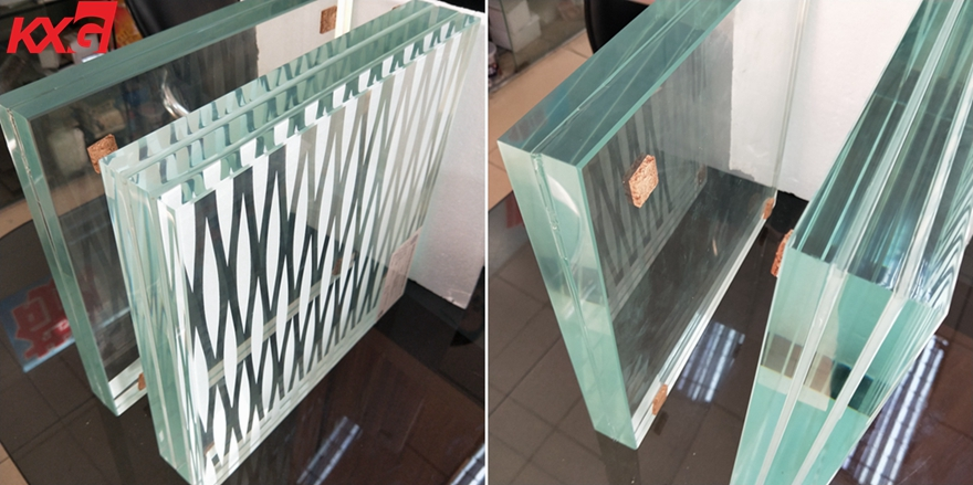 safety triple tempered laminated glass