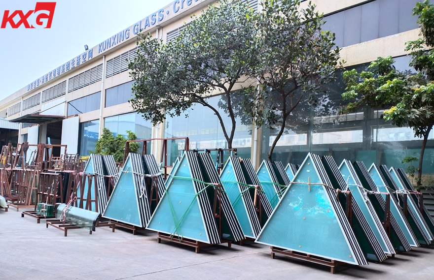 safety tempered insulated glass curtain wall
