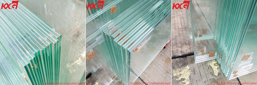 10.38 clear toughened laminated glass