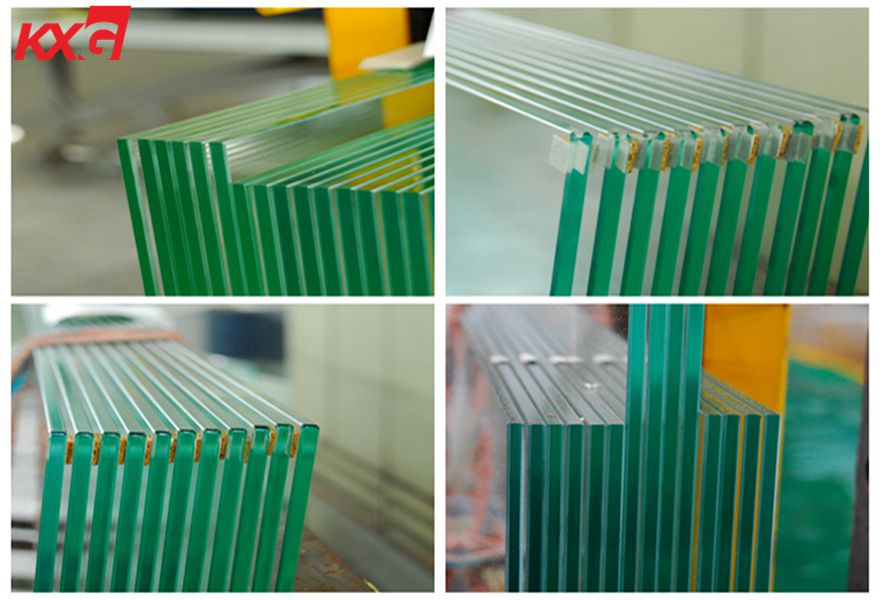 4-19mm clear tempered glass