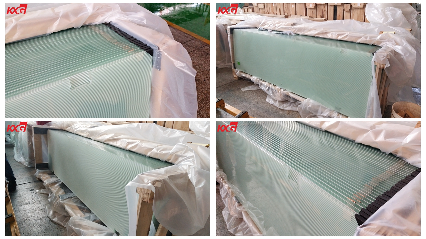 10mm frosted tempered glass shower door