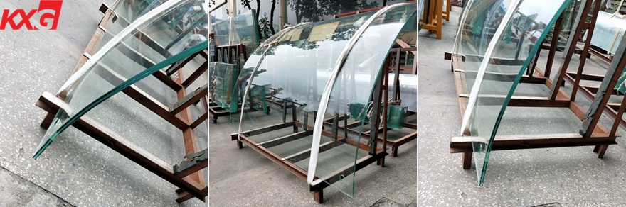 curved laminated glass