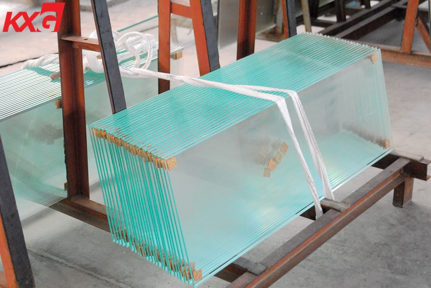 6mm extra clear toughened glass