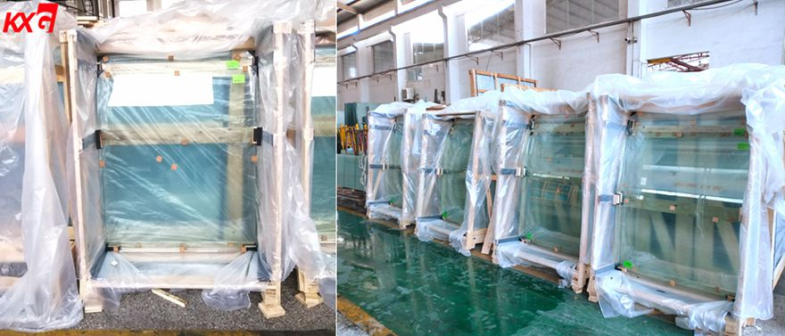 KUNXING GLASS Curved Laminated Glass Package