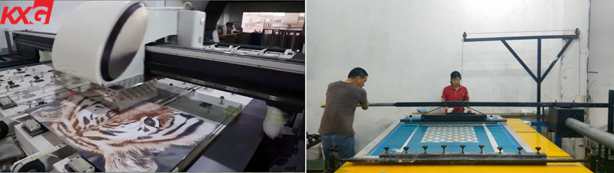 splash back glass production line