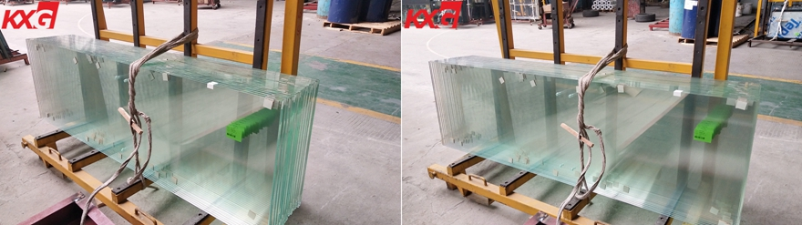 10mm ultra clear toughened glass